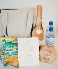 Virginia Wedding Gift Bag Ideas : Wedding Goodie Bag Ideas on Pinterest Wedding Welcome Bags, Welcome ...