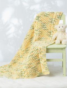 Yarnspirations.com - Bernat Cable Baby Blanket - Patterns  | Yarnspirations