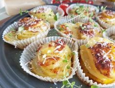 Potetstabel i muffinsform