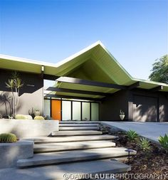 Mid century modern captured by David Lauer