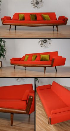 Adrian Pearsall for Craft Associates Sofa ca1960's