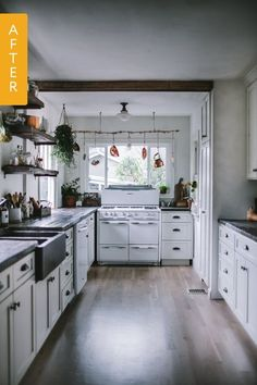 Last summer, Eva and her husband bought a 1930s cottage-style home in Portland, Oregon -- Continue with the details at the image link. #HomeImprovement Projects