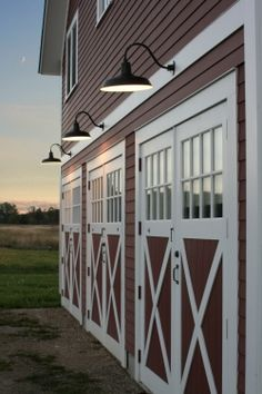 Barn Garage Doors single sliding barn door for a garage door | o u t d o o r s