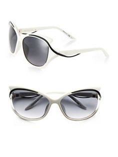 4a3622eb27a Dior - Oversized Swirled-Temple Sunglasses Sunglasses Accessories