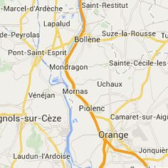 Kaart omgeving Camping Du Theatre Romain