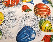 vintage wrapping paper which I remember my mother having