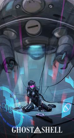 Ghost In The Shell - Motoko by tanhuitian.deviantart.com on @deviantART / Ghost in the Shell: Motoko Kusanagi (Major Kusanagi)