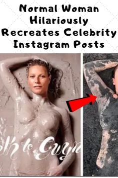 Normal Woman Hilariously Recreates Celebrity Instagram Posts