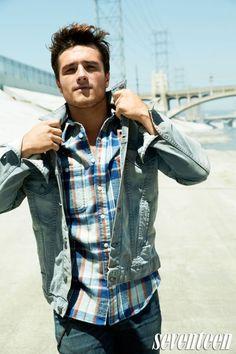 Seventeen Magazine- Josh Hutcherson, my future. Josh Hutcherson, Beautiful Men, Beautiful People, Pretty People, Perfect People, Hello Gorgeous, Bae, Seventeen Magazine, Attractive Men