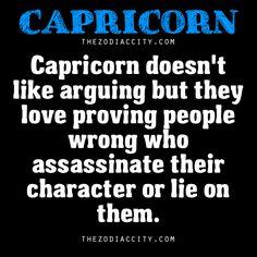Capricorns prove you wrong