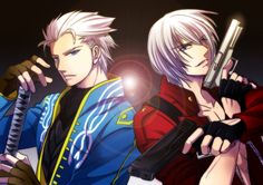 Devil May Cry Vergil And Dante