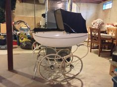 US $51.00 in Antiques, Home & Hearth, Baby Carriages & Buggies