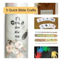 5 Quick Christian Crafts #diy #craft