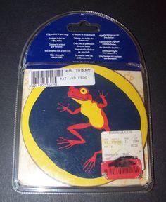 Mug Mates Halloween Coasters Pimpernel Bats Frogs Set of 4  #Pimpernel