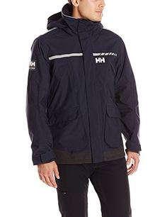Helly Hansen Mens Pier Jacket Navy Large *** Click image for more details.Note:It is affiliate link to Amazon.
