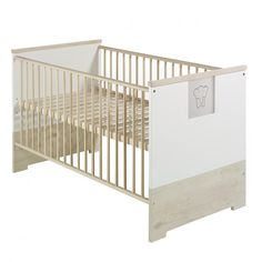 Babybett Eco Slide - Lancelot Oak Dekor / Weiß | Home24