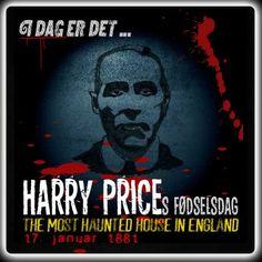 Harry Prices ville være fyldt 135 år i dag.  http://www.mxrket.dk/jan17-harryprice.html
