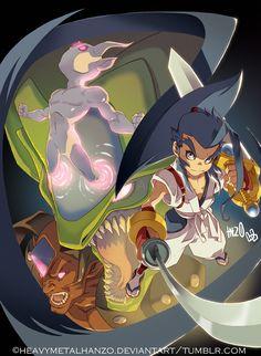 Brave Fencer Musashi by HeavyMetalHanzo.deviantart.com on @deviantART