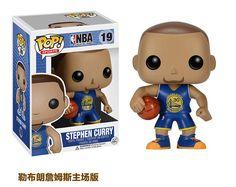 10cm Funko POP Kobe Bryant LeBron James Stephen Curry NBA Figure 2k Los Angeles Lakers Cleveland Golden State Warriors