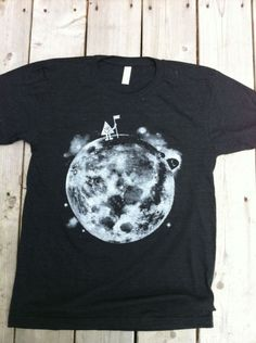 4aa24439 Moon T-Shirt | Little Paper Planes Paper Planes, Moon Design, Space Theme