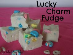 Lucky Charm Fudge