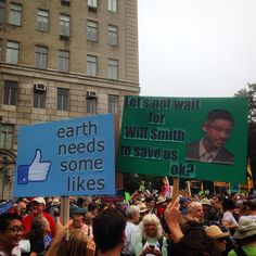 18 Witty Signs and Costumes From the People's Climate March – Angela Moxley – climate change protest Protest Posters, Protest Signs, Save Our Earth, Save The Planet, March Signs, Plakat Design, March For Science, Funny Valentine, Sentences
