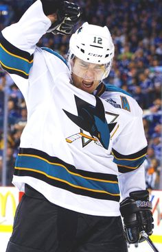 Patrick Marleau, San Jose Sharks- If this guy doesn't win a Cup I will go crazy, he deserves it for all of his talent and hard work.