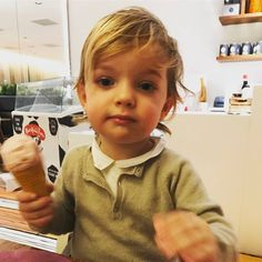 """Princess Madeleine shared a new photo of Prince Nicolas on her Facebook with caption """"Happy Saturday from Nicolas"""""""