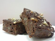 Gluten-Free Fudge Brownies: Possibly the best g-free brownie I've tried yet. Used a 9x9 pan and were done in 20 minutes. A delicious little chocolate fix when frozen and cut into brownie bites.