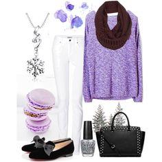 Snowflake in Lavender