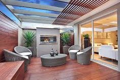 Image result for images of decked alfresco areas