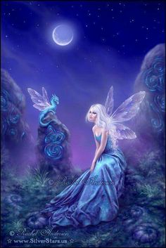 Blue Fairy and the Dragon