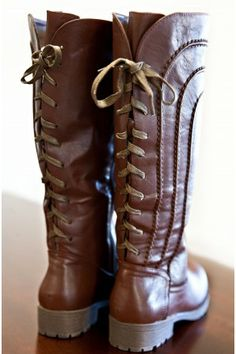 Coffee Creek Lace Up Boots