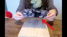She sticks a picture on a wooden board. Wooden Picture, Photo On Wood, Wood Crafts, Diy Crafts, Gel Medium, Cute House, Wood Blocks, Cool Photos, Projects To Try