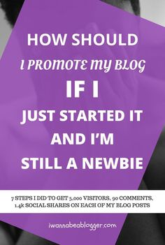 How should I promote my blog if I just started it and I'm still a newbie? Your answer — blogger outreach!