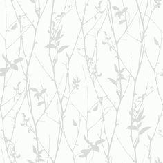 "Garrison 33' x 20.9"" Paloma Spring Tree Wallpaper"