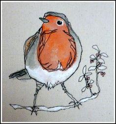Watercolor Artwork   Robin   Painting   Art   Simple and Beautiful
