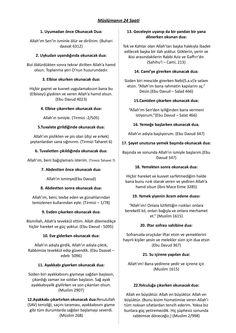 MÜSLÜMANIN 24 SAATİ - DUALAR 1