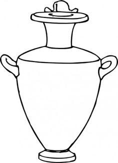 greek pottery designs | Greek Pottery Designs Lesson – Art History – KinderArt