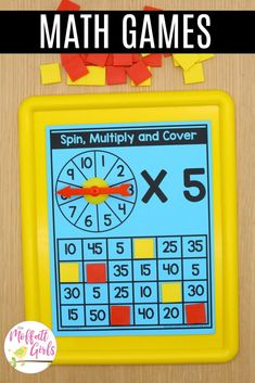 Grade Math: Multiplication and Division Part 2 - Mathe Ideen 2020 Third Grade Math Games, 4th Grade Math, Grade 3, Second Grade, Multiplication Activities, Math Activities, Math Fractions, Educational Activities, Math Division