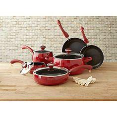 Paula Deen Cookware...in RED baby!