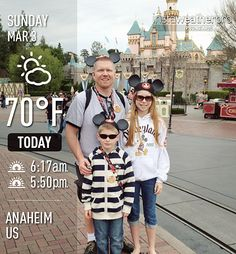 Document the Weather on Your Vacation