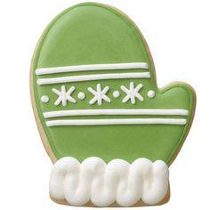 green mitten cookie