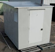 SolerCool shed, a solar-powered refrigerator designed to lesson post-harvest waste in developing countries
