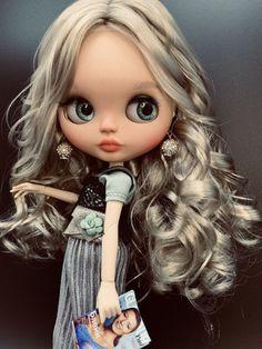 Ooak Dolls, Blythe Dolls, Barbie Dolls, Art Dolls, Doll Head, Doll Face, Pretty Dolls, Beautiful Dolls, Gothic Dolls