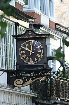 The Pantiles Clock, Tunbridge Wells, Kent, UK Unusual Clocks, Steampunk Clock, Kent England, Tunbridge Wells, Park Hotel, Over The Years, Kent County, Around The Worlds, Wellness