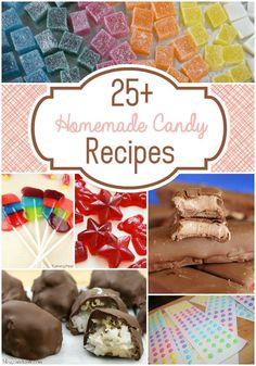 25+ Homemade Candy Recipes