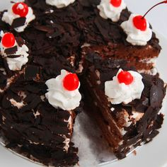 This recipe is easy to follow, you can make with homemade cake or cake mixes.Home made is always fantastic, but if you want to use cake mixes, this recipe explains the process of making this tradition cake.. Black Forest Cake with Fresh Whipping Cream Recipe from Grandmothers Kitchen.