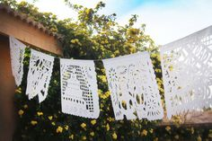 Wedding Papel Picado Banner