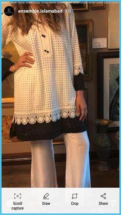 Women S Fashion For 40 Year Olds Referral: 4405878336 Pakistani Formal Dresses, Pakistani Fashion Casual, Pakistani Dress Design, Pakistani Outfits, Pakistani Kurta, Shadi Dresses, Tunic Designs, Dress Neck Designs, Kurta Designs